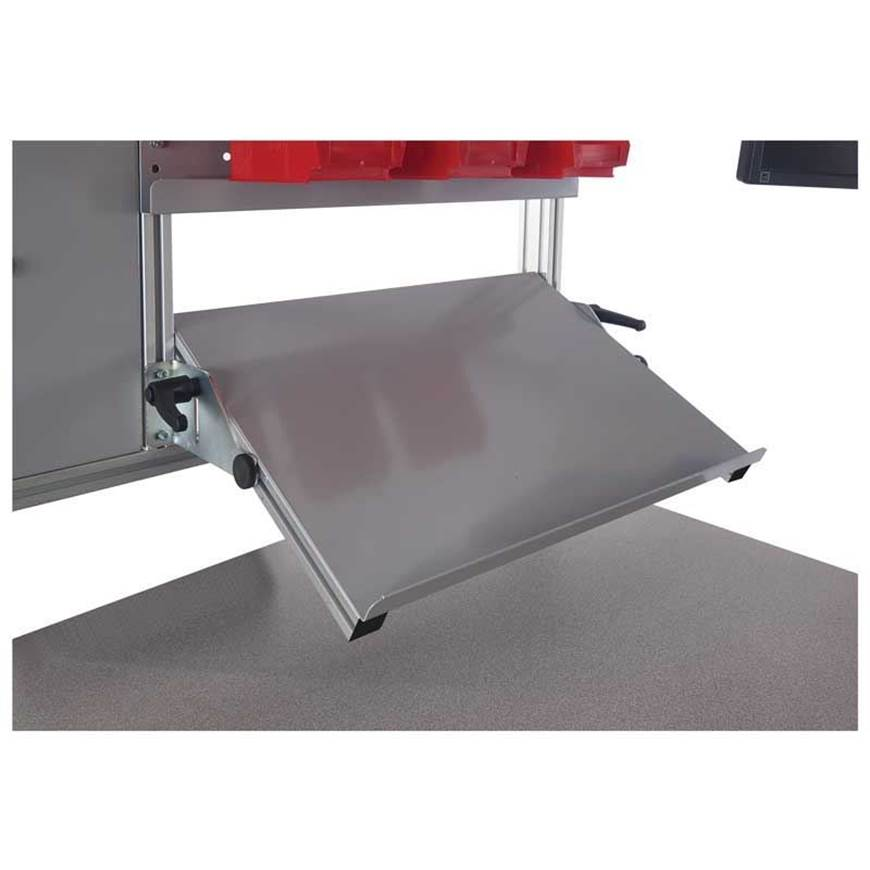 Picture of Adjusting Tilting Shelf for Binary Electric Height Adjustable Workbenches