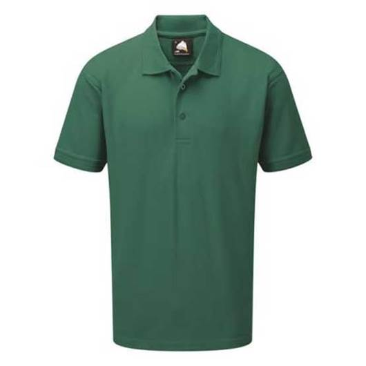Picture of Mens Bottle Green Polo Shirt