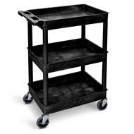 Picture of Plastic Multi-Purpose Trolleys with 3 Storage Trays