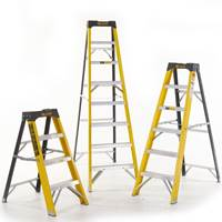 Picture of Climb-It Glass Fibre Swingback Stepladders